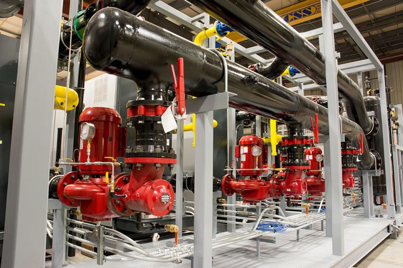 Recently Shipped: Skidded Gas Fired Boiler System - Epsilon